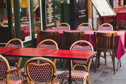 street bistro in Paris